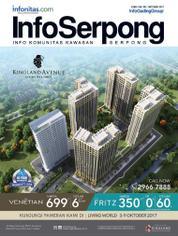 Cover Majalah InfoSerpong Oktober 2017