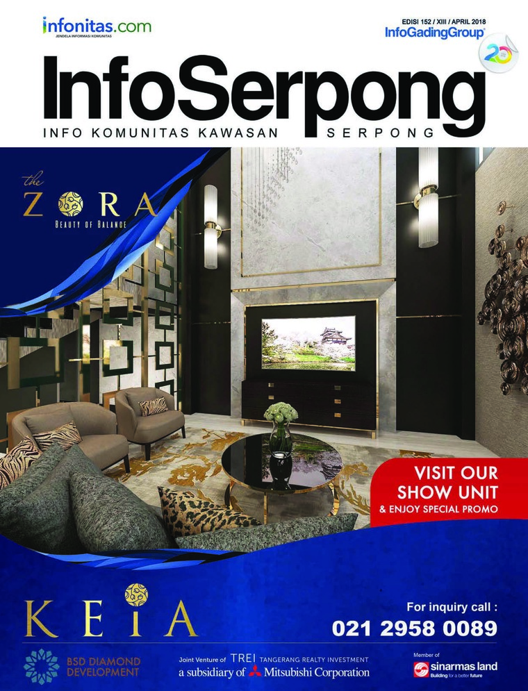 Majalah Digital InfoSerpong April 2018