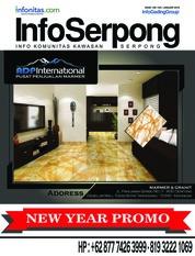 Cover Majalah InfoSerpong Januari 2018