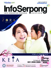 InfoSerpong Magazine Cover March 2018