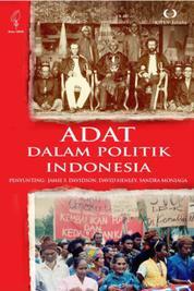 Adat dalam Politik Indonesia by Cover