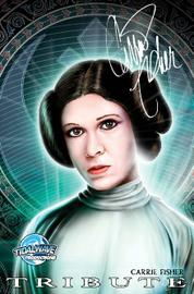Tribute: Carrie Fisher by Cover
