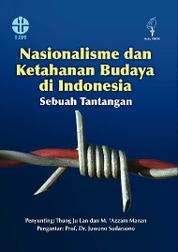 Cover Nasionalisme dan Ketahanan Budaya di Indonesia: Sebuah Tantangan oleh M. Azzam Manan