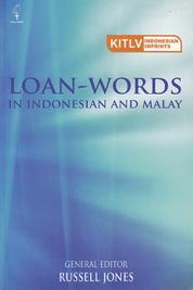 Loan-Words in Indonesian and Malay by Russell Jones Cover