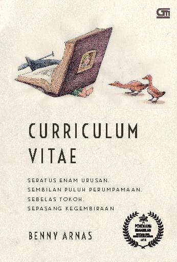 Buku Digital Curriculum Vitae oleh Benny Arnas