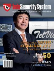 Indo Security System Magazine Cover February–March 2017