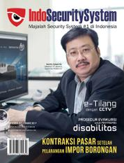 Indo Security System Magazine Cover October–November 2017