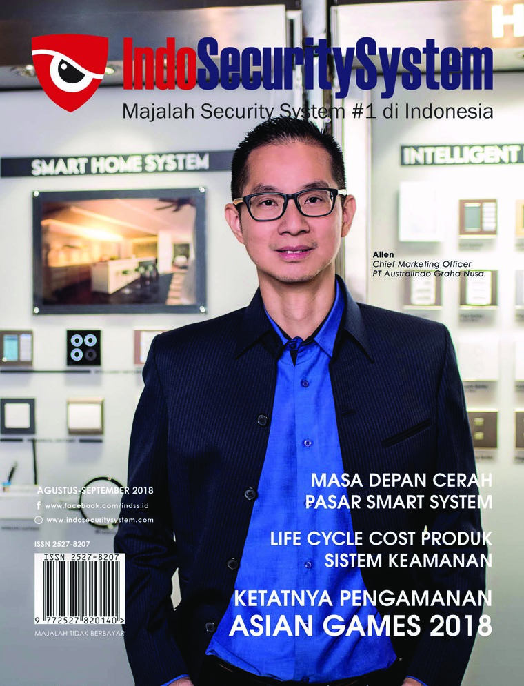 Indo Security System Digital Magazine August-September 2018