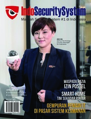 Indo Security System Magazine Cover April-May 2018
