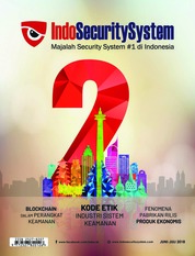 Indo Security System Magazine Cover June-July 2018