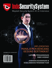 Indo Security System Magazine Cover December-January 2019