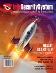 Indo Security System Magazine Cover April-May 2019