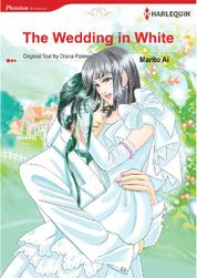 Cover The Wedding in White oleh Diana Palmer