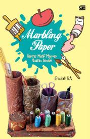 Cover Marbling Paper (Kertas Motif Marmer Buatan Sendiri) oleh Endah RA