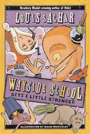 Wayside School Gets a Little Stranger by Louis Sachar Cover