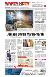 Cover WARTA KOTA 24 Maret 2018