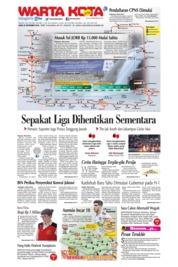 Cover WARTA KOTA 26 September 2018