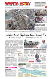 Cover WARTA KOTA 22 Januari 2019