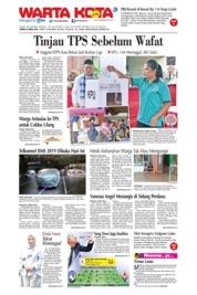 WARTA KOTA Cover 25 April 2019