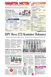 WARTA KOTA Cover 13 June 2019
