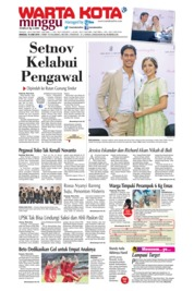 WARTA KOTA Cover 16 June 2019
