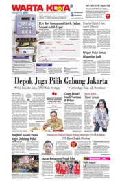 WARTA KOTA Cover 21 August 2019