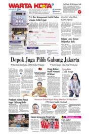 Cover WARTA KOTA 21 Agustus 2019