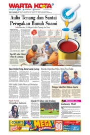 Cover WARTA KOTA 06 September 2019