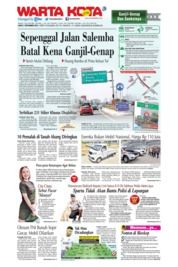 WARTA KOTA Cover 07 September 2019