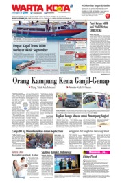 Cover WARTA KOTA 10 September 2019