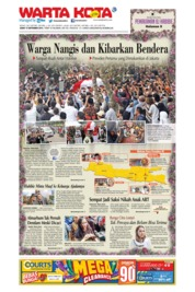 WARTA KOTA Cover 13 September 2019