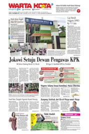 Cover WARTA KOTA 14 September 2019