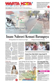 WARTA KOTA Cover 20 September 2019