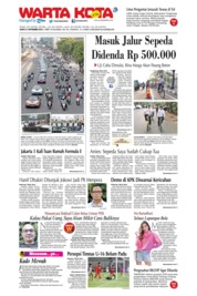 WARTA KOTA Cover 21 September 2019