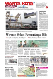 WARTA KOTA Cover 13 October 2019