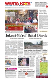WARTA KOTA Cover 15 October 2019