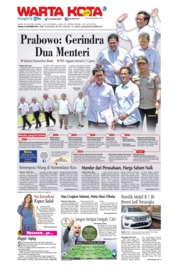 WARTA KOTA Cover 22 October 2019