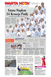 WARTA KOTA Cover 23 October 2019