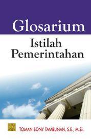 Cover Glosarium Istilah Pemerintahan oleh