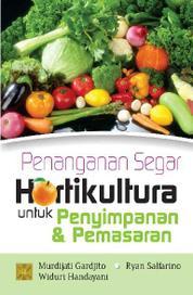 Penanganan Segar Hortikultura by Cover