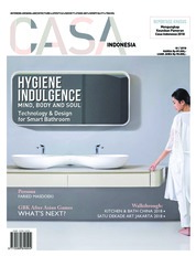 Cover Majalah CASA INDONESIA ED 03 September 2018