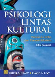 Psikologi Lintas Kultural by David A Levy Cover