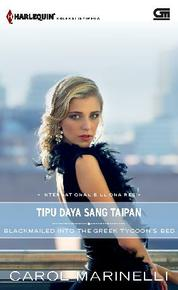 Harlequin Koleksi Istimewa: Tipu Daya Sang Taipan (Blackmailed Into The Greek Tycoon's Bed) by Cover