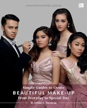 Cover IWWAN HAROUN make-up book; Simple Guides to Create Beautiful Make-Up from Everyday do Special Day oleh Debbie S. Suryawan