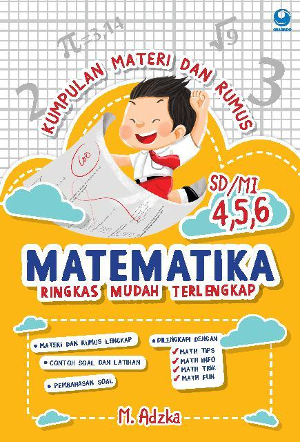 Jual Buku Kumpulan Materi Dan Rumus Matematika Sd Mi Kelas 4 5 6