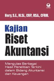 Riset Akuntansi by Hery, S.E., M.Si., CRP., RSA., CFRM. Cover