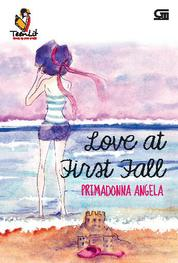 Cover TeenLit: Love at First Fall *Cetak ulang cover baru oleh