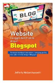 Cover Website Canggih dan Praktis dengan Blogspot oleh Jefferly Helianthusonfri