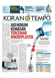 Cover Koran TEMPO 15 Maret 2018