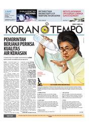 Cover Koran TEMPO 16 Maret 2018